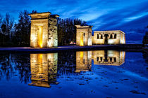 The Temple of Debod Madrid - El Templo de Debod von ebjofrie