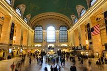 New York- Grand Central by Lisa Stelzel