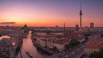 Panorama Berlin von oben von Franziska Mohr