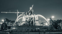Neptunbrunnen am Alexanderplatz von Franziska Mohr