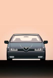 Modern Euro Icons Series Alfa Romeo 164 Quadrifoglio Q4 von monkeycrisisonmars