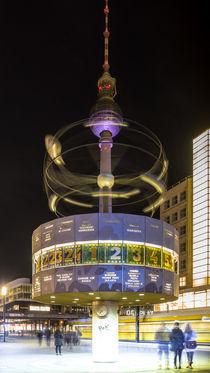 Fernsehturm mit Weltzeituhr von Franziska Mohr