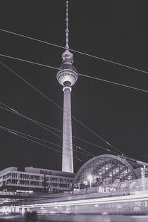 Berlin Alexanderplatz s/w von Franziska Mohr