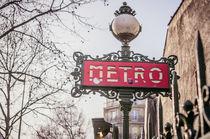 Metro in Paris von goettlicherfotografieren