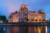 Berliner Reichstag I von elbvue by elbvue