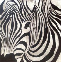 Zebra von Anita Hörskens