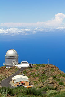 Nordic Optical Telescope auf La Palma von monarch