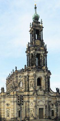 Katholische Hofkirche in Dresden by gscheffbuch