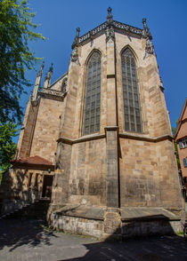 Apse of the Frauenkirche, Esslingen by safaribears