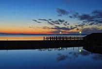 'Nach Sonnenuntergang - Chiemsee ' von Peter Bergmann