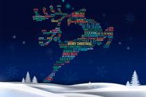 Charming Reindeer by Bedros Awak
