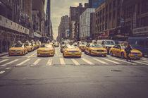 yellow cab von Michal Zaczek