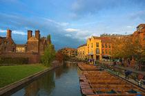 Cambridge evening by Andrew Michael