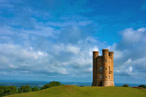 Broadway Tower landscape by Andrew Michael