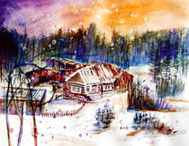 Winterlandschaft by Irina Usova