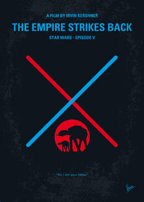 No155 My STAR WARS Episode V The Empire Strikes Back minimal movie poster by chungkong