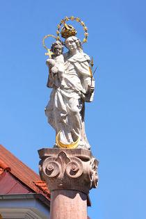 Mariensäule in Murnau by lizcollet