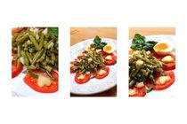 Bohnensalat-collage