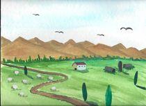 Landschaft von Mischa Kessler