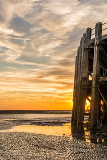 End of the Pier Sunset by Malc McHugh