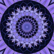 Mandala Weg der Erleuchtung by Christine Bässler