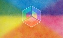 Farbhorizonte-3d-licht-schatten