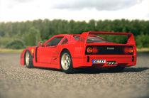 Toy Car Ferrari  by Marco Lombardi