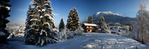 Haus im Winter by fotoping