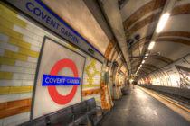 Covent Garden Tube Station by David Pyatt