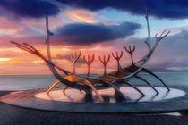 Reykjavik & Sunset by Luis Henrique de Moraes Boucault