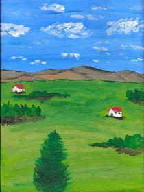 zwei Hütten / two cottages von Mischa Kessler