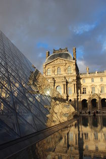 Louvre Pyramide  by Klauss Milhorati Neves