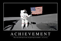Achievement Motivational Poster by Stocktrek Images