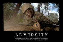 Adversity Motivational Poster von Stocktrek Images