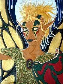 Oberon King of Faeries by Ron Moses