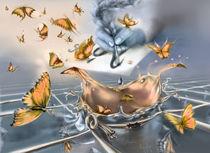 Yellow butterfly explosion von zvezdochka
