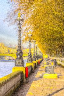 River Thames Path Art by David Pyatt