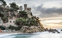 D'en Plaja Castle (Lloret de Mar, Catalonia) by Marc Garrido Clotet
