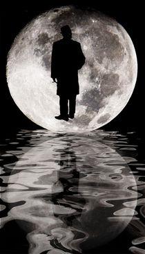 The man in the Moon von Chris Berger