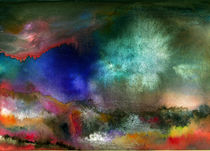 Meine regenbogen tal by Bill Covington