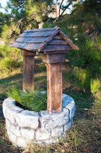 Decorative stone well in the park von Vladislav Romensky