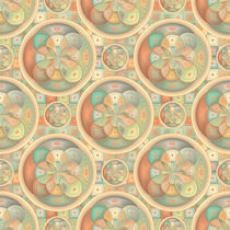 Complex geometric pattern by Gaspar Avila