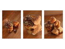 Die Bären beim süssen Dessert-Mundraub  von lizcollet