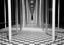 Wandelhalle in Böblingen, Schwarz-Weiß by Nicola Furkert