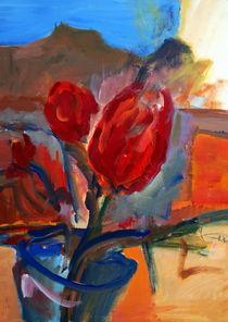 rote Tulpen von Dieter Greubel