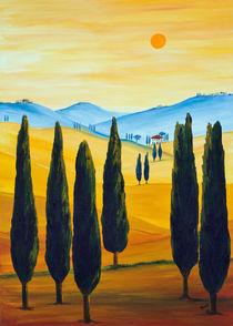 Sehnsucht nach der Toskana by Christine Huwer