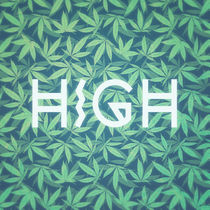 HIGH TYPO! Cannabis / Hemp / 420 / Marijuana  - Pattern von badbugsart