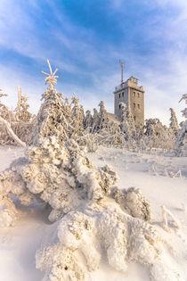 Winter auf dem Fichtelberg by Stefan Weiß