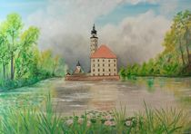 Wasserschloss in Reinharz by Barbara Kaiser