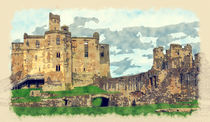 Warkworth Castle by Tanya  Hall